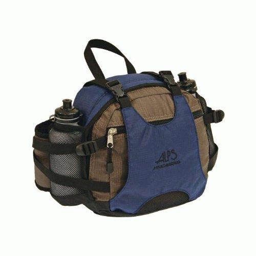 ALPS Mountaineering Walker Nylon Ripstop Fanny Pack (500 cubic inch), Blue, Outdoor Stuffs