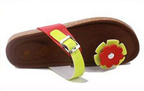 Footlocker pas cher Studio Sk - Pantoufles Vert Maison De L'homme De Tournesol Brun-rouge vente excellente dégagement 100% original Footlocker rabais CRoLqAk