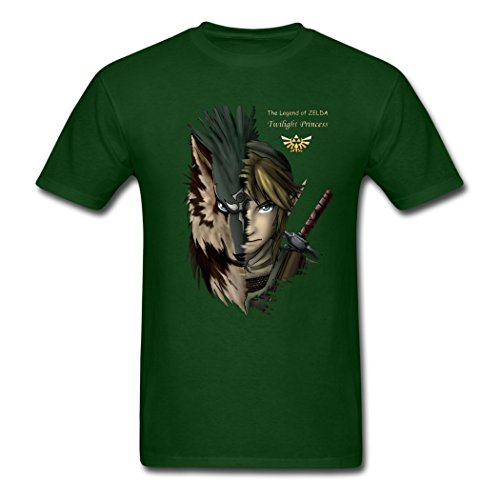 Price comparison product image Flotrees Lorenzo Fressoia Loz Forest green breathable Males T-Shirts Large