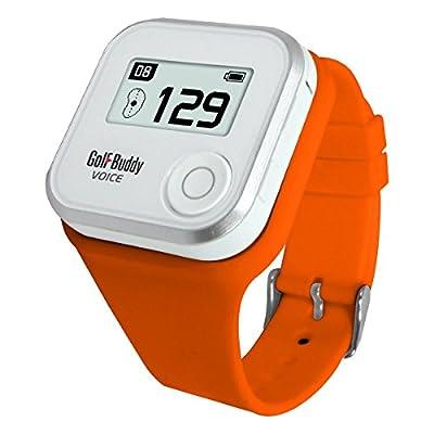 GolfBuddy Voice GPS Wristband - Orange