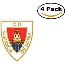 fan products of Club Deportivo Numancia de Soria Spain Football Club Soccer FC 4 Sticker Decal 4X4