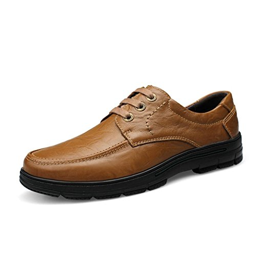 Chaussures Dentelle Chaussures Kaki Chaussures Chaussures Travail de Décontractées Conduite Homme antidérapantes en Chaussures de qSXFXvt