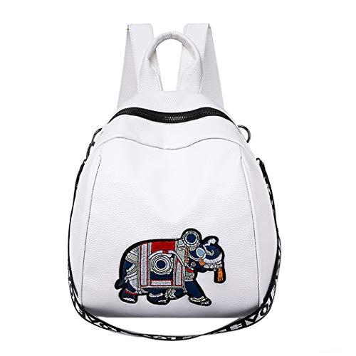 Alixyz Shoulder Women Bag Slanting Backpack Hand Lading Mini Fashion Bag White Black Simple Messenger rnrZWqwT