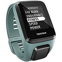 TomTom 1RKM.002.02 Spark 3 Cardio + Music, GPS Fitness Watch + Heart Rate Monitor + 3GB Music (Aqua, Small)