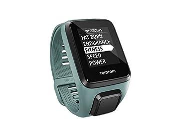 TomTom SPARK 3 Cardio - Montre GPS Multisports - Bracelet Fin - Vert dEau