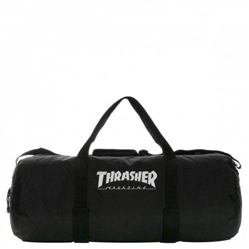 Thrasher Logo Duffle Bag Black OneSize