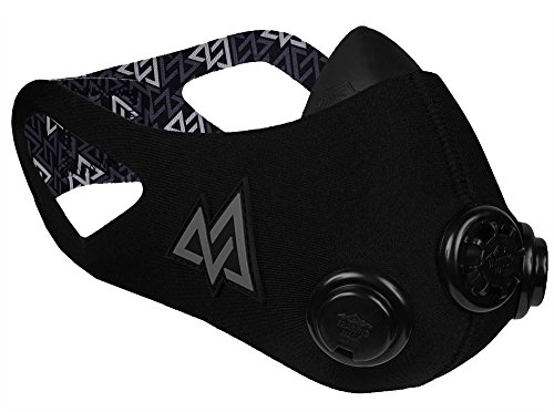 Training Mask 2.0 [Black Out], Elevation Training Mask, Fitness Mask, Workout Mask, Running Mask, Breathing Mask, Resistance Mask, Elevation Mask, Cardio Mask, Endurance Mask For Fitness (Medium) (Mask Breather)