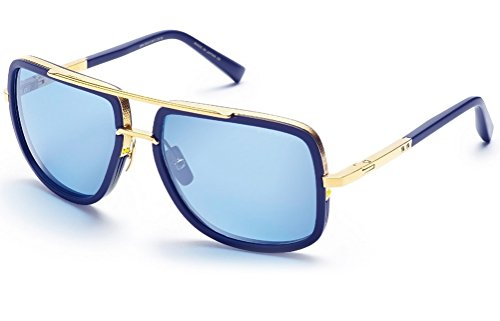 Dita Mach One Sunglasses 59 mm Navy - For Dita Men Sunglasses