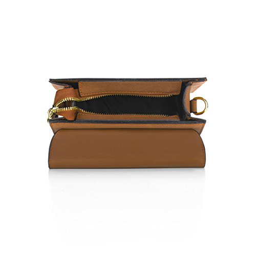 Sourcingmap, Borsa a tracolla donna Small Brown