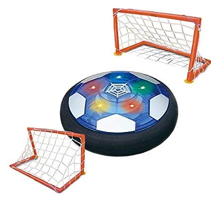 SODIAL Juguetes para Ni?Os Air Power Soccer Disc BalóN de?FúTbol ...