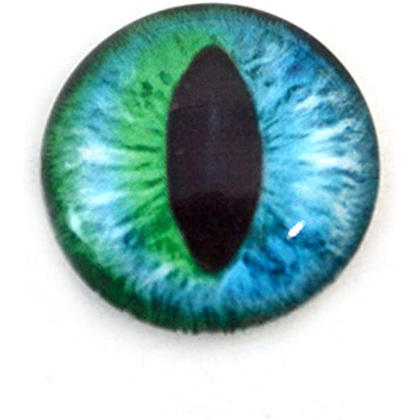 1 chain trailer dragon eye cat eye turquoise round pupil silver colors playful sweet charm gift