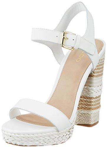 Sandales White Bride Cheville Blanc Bright Huglag ALDO Femme aRqxwZBR
