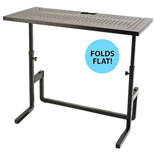 - Quik Lok DJ Table and Mixer Stand Equipment (DJ233)