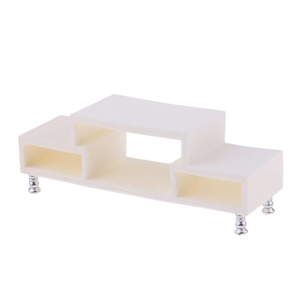 Sauvic TENDEDERO BARANDA Adaptable 63x4x7 cm Hierro galvanizado con Pintura cer/ámica Blanca
