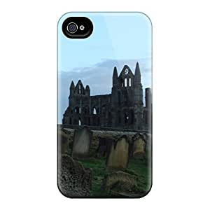 High Impact Dirt/shock Proof For Case Iphone 4/4S Cover (the Ancient Stones Speak)
