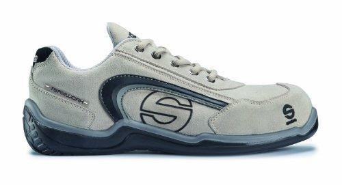 Sparco M255896 - Zapato seguridad sport low gris talla 43