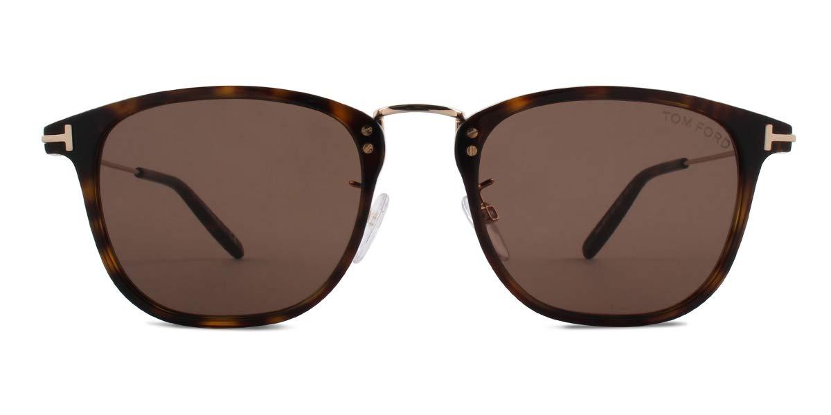 Tom Ford Beau FT 0672 Dark Havana/Light Brown 53/21/145 Unisex Sunglasses by Tom Ford