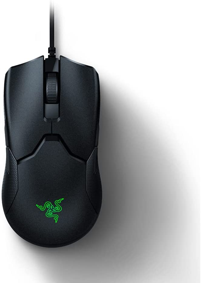 Razer ViperRatón para Juegos, Ratón Ligero Ambidiestro Gaming para Esports, con 69 g de Peso, Cable Speedflex, Sensor Óptico 5G, Memoria DPI Integrada ...