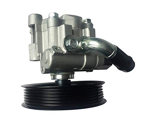 DRIVESTAR 21-5345 Brand New OE-Quality Power Steering Pump for 2003-08 Pontiac Vibe 1.8L, 2003-08 Toyota Corolla 1.8L, 2003-08 Toyota Matrix 1.8L Power Steering Pump with Pully
