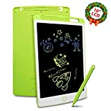Richgv LCD Writing Tablet, 10 Inches Update Digital Electronic Graphics Tablet Ewriter with Memory Lock Mini Board Handwriting Pad Suitable for Kids and Adults for Home,School,Office