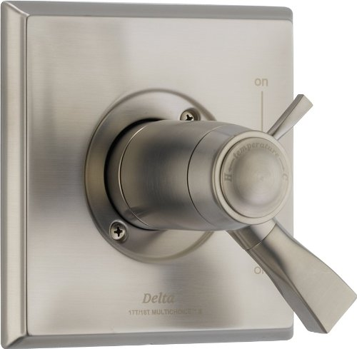 Delta T17T051-SS Dryden Tempassure 17T Series Valve Trim Only, Stainless