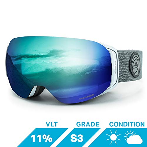 Wildhorn Roca Snowboard & Ski Goggles - US Ski Team Official Supplier - Interchangeable Lens - Premium Snow Goggles