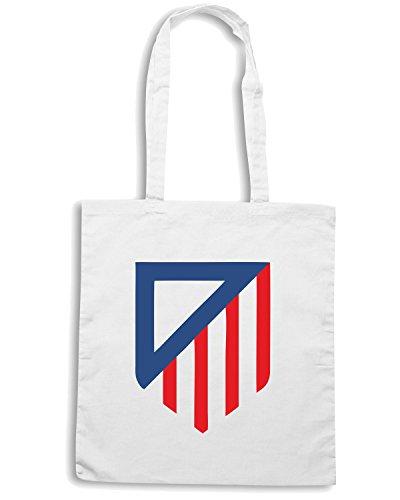 T-Shirtshock - Bolsa para la compra WC0475 Los Rojiblancos Blanco