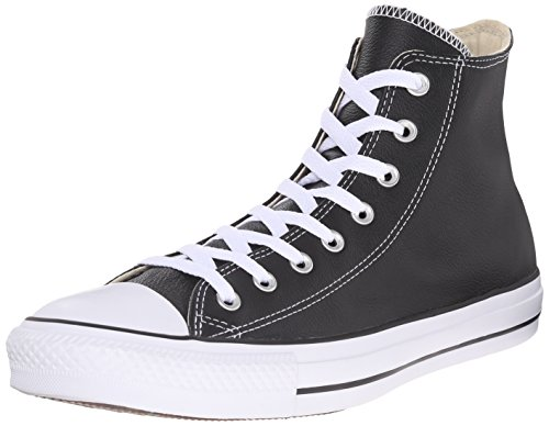 Converse Taylor Baskets All Noir Lea mixte Chuck Star adulte mode Hi Core 55qHrx