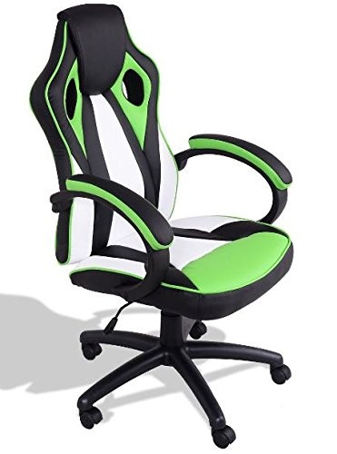 41GdJ7AI2pL - KA-Company-Chair-Style-High-Back-Gaming-Racing-Ergonomic-Office-Leather-Pu-Swivel-Computer-Executive-360-Degree-5-Wheels-Mesh-Bucket-Seat