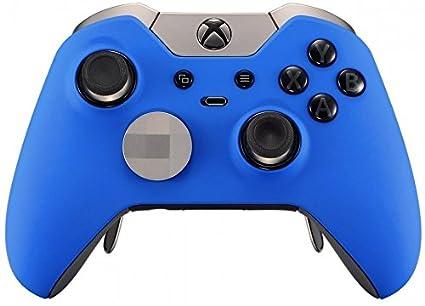 Amazon com: Blue Soft Touch Xbox One Elite Controller/UN
