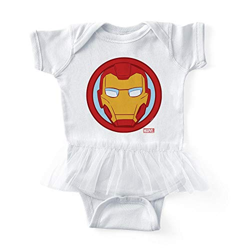 CafePress Iron Man Icon Cute Infant Baby Tutu Bodysuit -