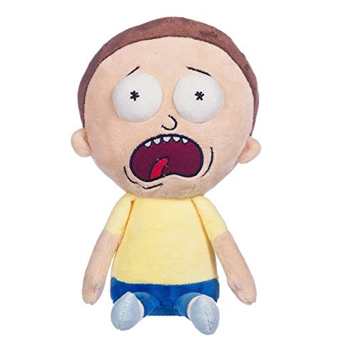 The Ultimate Gift Company Rick & Morty Character Soft Plush Toy - Screaming Morty