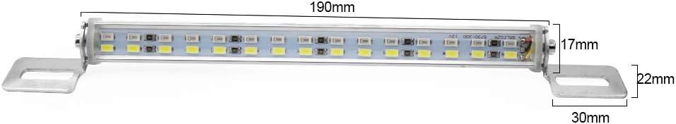 Lampada Stop Freno LED Luce Targa Barra Lampada Posteriore 5730 Perline Lampada Nrpfell Luce Posteriore Un LED per Auto 12V 30