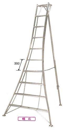 ピカ アルミ園芸用三脚 GMF-300A 垂直高さ2.90m 使用最大高さ2.03m B077JZKRCD