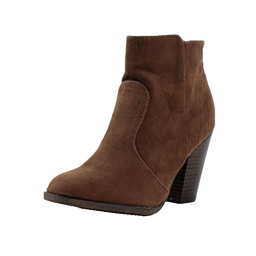 Breckelles Heather-34W Bootie Boots,Black