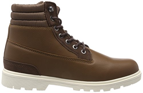 Urban Classics Herren Winter Boots Chukka, Braun (Brown/Darkbrown), 46 EU