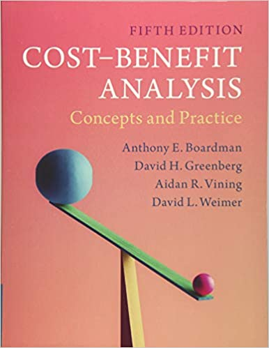 Cost Benefit Analysis Concepts And Practice Anthony E Boardman