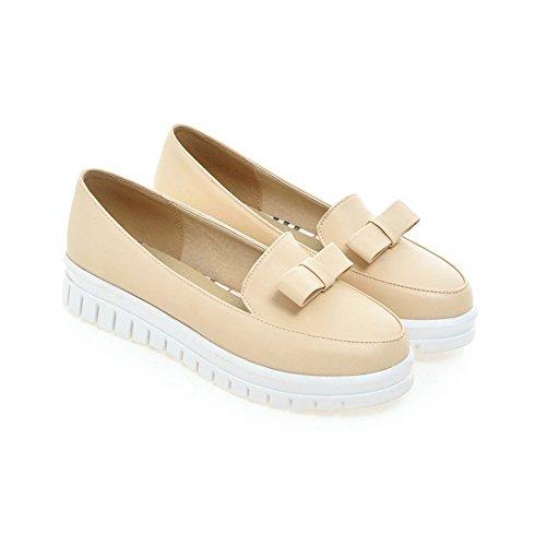 De 1to9 Mujer Para Beige Vestir Zapatos Fqx86T