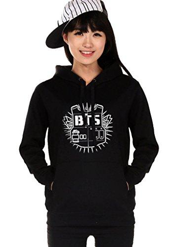 Bangtan Black Hoody Sweater Pullover product image