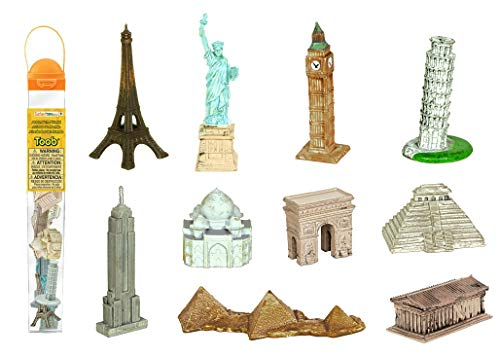 Safari 679604 Around the World TOOB, 10 Figurines (Small Figurines)