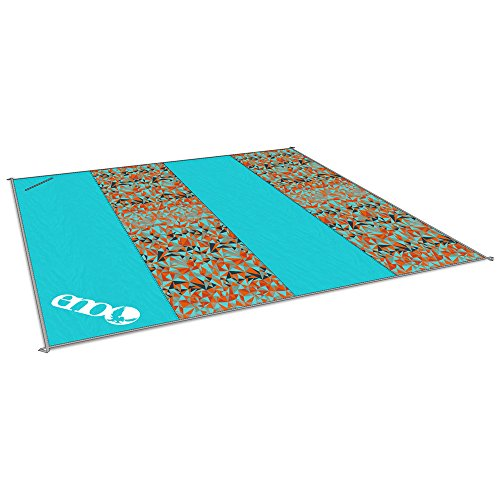 ENO - Eagles Nest Outfitters Islander Travel Blanket, Geo/Orange (Blanket Eagles Outfitters Nest)