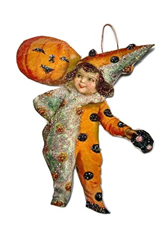 Halloween Ornament Decoration Clown Costume Girl