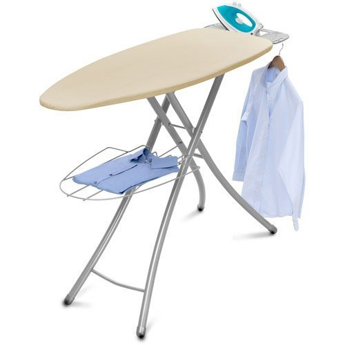 Wide-Top Ironing Board 4-leg design 100% cotton cover Garmen
