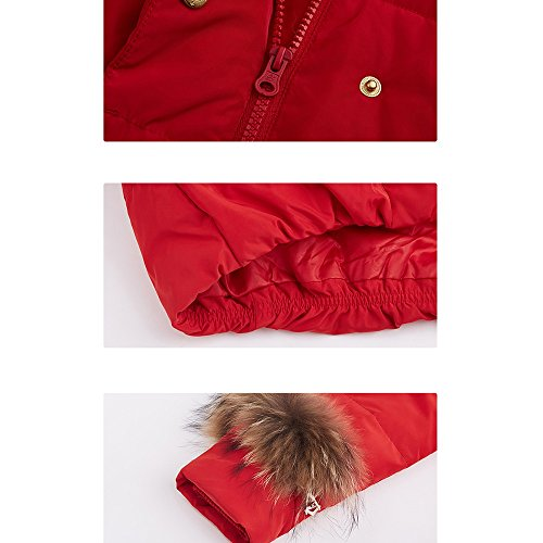 available warm optional Autumn jacket jacket jacket and Long down jacket Ms hooded down B colors QFFL collar 6 winter Size wtqPZUAT