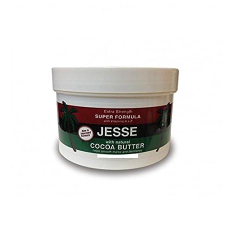 Crema para mantequilla de cacao Jesse de 236 ml - por ELYSEESTAR - con vitaminas A y E - ayuda a suavizar las marcas y las imperfecciones: Amazon.es: ...