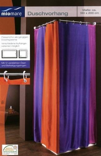 Miomare Textile Shower Curtain