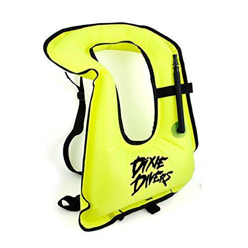 Dixie Divers Snorkel Vest JUNIOR SIZE- Inflatable Life Ve...