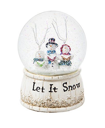 Cypress Home Let It Snow Choir Musical Snow Globe by Cypress Home