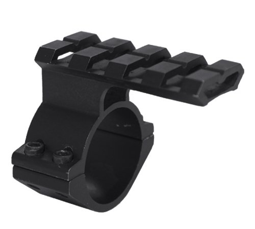 Tactical Barrel Clamp Mount With Rail For 12 Gauge Shotguns And Magazine Tubes Fits Remington 870 1100 11-87 SP-10 Mossberg 500 835 Maverick 88Winchetser 1300 ()