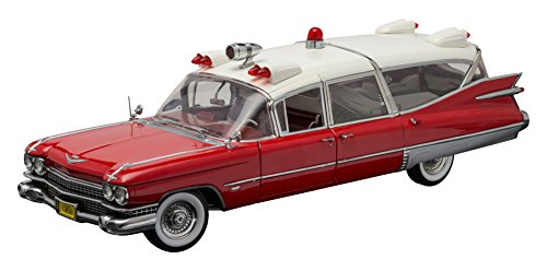 Cadillac 1959 Ambulance (Greenlight Collectibles Precision Collection - 1959 Cadillac Ambulance (1:18 Scale), Red/White)